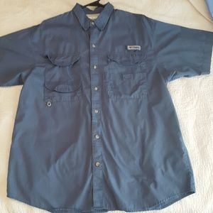 Men's Columbia fishing shirt
